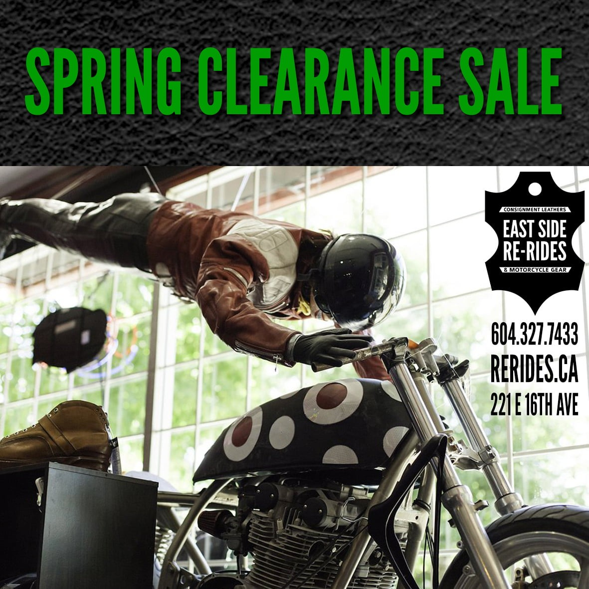 The Pre-Spring Clearance Sale!
