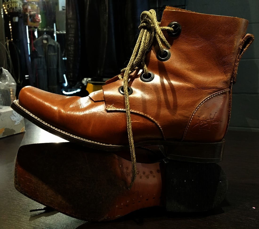 Fluevog Simon I Believe Boots (low)