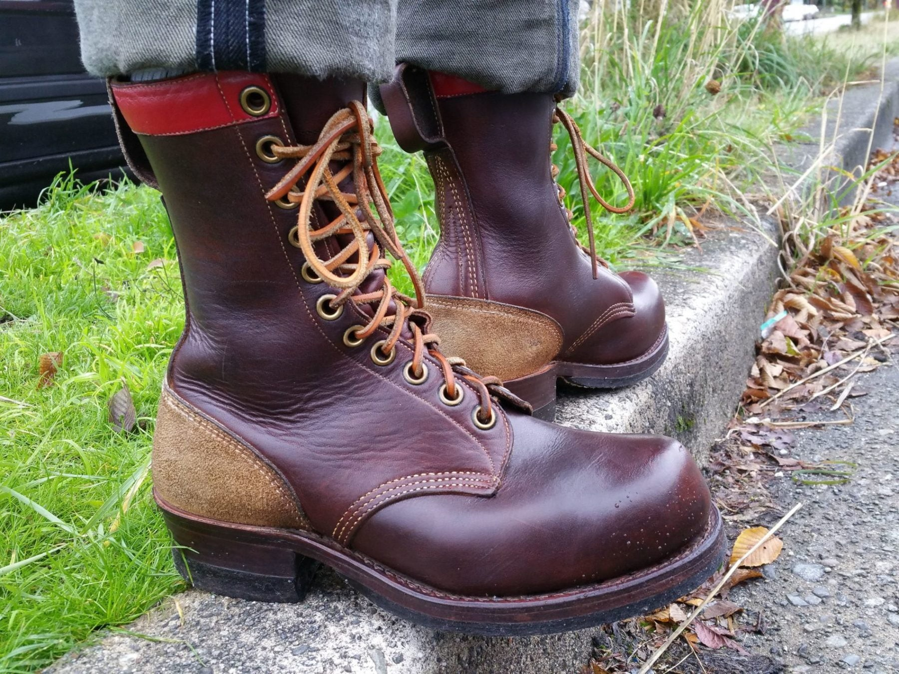 J. Leckie Skookum Logger boots