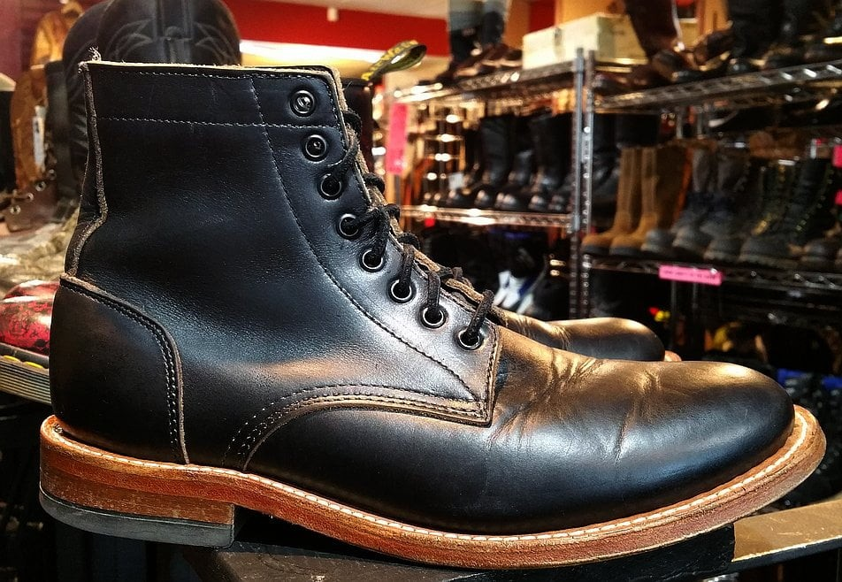 The Trench Service Boot from Oak Street Bootmakers
